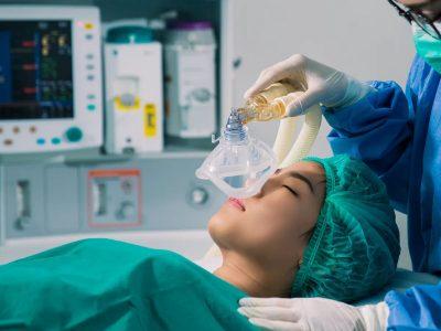 موارد بیهوشی کامل از عمل های جراحی