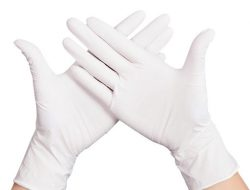 دستکش جراحی کم پودر